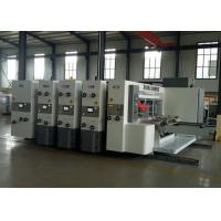 Quality Automatic Flexo Printer Slotter Machine 1 - 4 Colors Printing Fit Carton Box wholesale