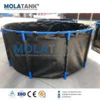 Quality Molatank Flexible PVC fish farming fish tank from 500L to 40,000L OEM service Hot Sale wholesale