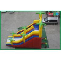 Quality 5 X 8 Giant Outdoor Commercial Inflatable Bouncer Slide Double Slide wholesale