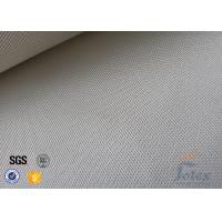 Cheap 800℃ Fire Resistant 0.7mm High Silica Glass Fiber Cloth Satin 8HS Weave for sale