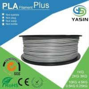 High Strength 2.85 / 1.75 Mm PLA Filament , Multicolor 3D Printer PLA Filament