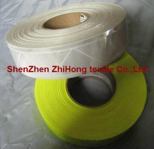 Quality 3M high light PVC prismatic reflective film safety hazard tape wholesale