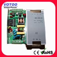 Cheap 24V 5A 120W DIN Rail Power Supply / AC To DC Switching Power Supply for sale