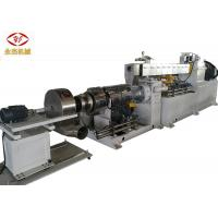 China Automatic Extruder PVC Machine , Twin Screw Compounding Extruder SISMENS Motor on sale
