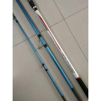 Quality 4.20m 3 section Surf casting Carbon Fishing rods,Trabucco  surf casting rods,carbon fishing rods wholesale