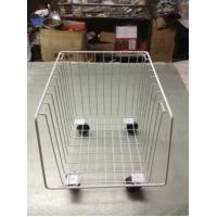 Cheap Powder Coating Supermarket Shopping Trolley Cart , 4 Wheel Metal Shopping Carts for sale