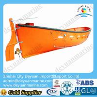 China F.R.P Open Type Lifeboat on sale