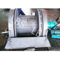 Quality Light Weight Hydraulic Mooring Winch Compact Structure Small Volume wholesale
