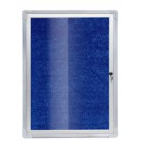 Buy cheap Cork Enclosed Bulletin Boards With Pin High Density Feature Eco - Friendly from wholesalers