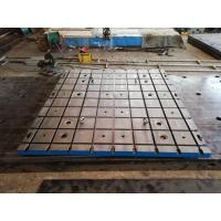 China Cast Iron Test Bed Plates With T Slot And Hole By Custom Made on sale