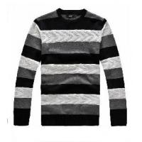 Quality Men′s Cable Sweater, Pullover Sweater, Knitted Sweater (SFY-J25) wholesale