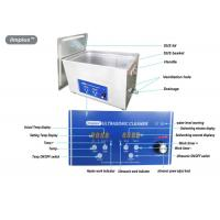 Quality Heated Digital Ultrasonic Jewelry Cleaner 15L For Jewelry Cleaning wholesale