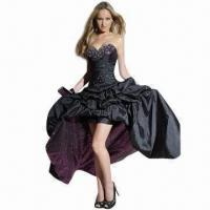 Quality Sexy Taffeta Sweetheart Beaded Evening Dress wholesale