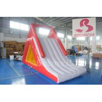 Quality Colorful Inflatable Climbing Water Slide With Durable Anchor Pads wholesale