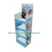 Quality Pop Printed Corrugated Cosmetic Cardboard Counter Display Recyclable for sale
