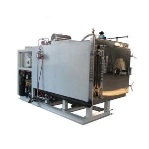 China Laboratory Horizontal Vacuum Freeze Dried Food Machine Touch Screen Operation on sale