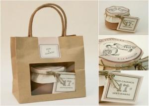 Quality Gift paper bag with window - fashion & beautiful wholesale