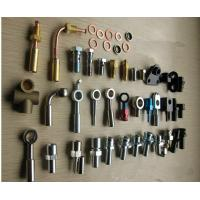 Quality carbon steel galanized zinc plated coating brake hose line pipe fittings wholesale