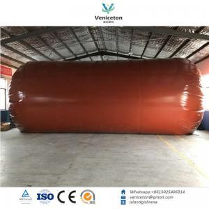Quality Biogas plant Anaerobic fermentation tank biogas digester with double membrane gas holder gas storage bag wholesale