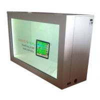 China HD Indoor 3G transparent lcd panel Window For Exhibition Wide viewing angel on sale