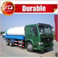 Cheap 2016 hot sale high quality 19000L 6x4 STR 5000 gallon water tank truck for sale