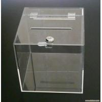 Cheap Acrylic Donation Box for sale