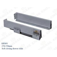 Quality Kitchen Drawer Slide With Soft Closing Drawer Runner slide for cabinet KRS02 wholesale