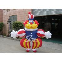 China Commercial Grade Advertising Inflatables Funny Clown Moving Cartoon on sale