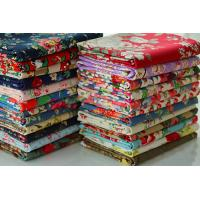 Bags Lining Fabric / Printed Cotton Canvas With Fine Plain Woven Technics