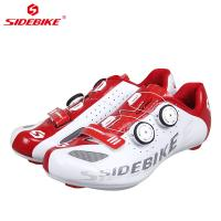 China Men Breathable Carbon Fiber Cycling Shoes , Carbon Road Bike Shoes OEM / ODM Available on sale