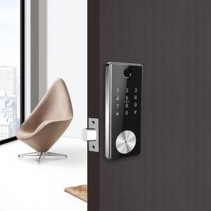 Quality AES Encryption Ansi Grade 2 Deadbolt Fingerprint Auto Door Lock with WiFi wholesale
