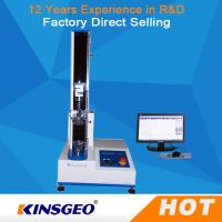 Quality 100KG Tensile Strength Testing Equipment , Universal Tensile Testing Machine With Speed 0.1-500mm/min wholesale