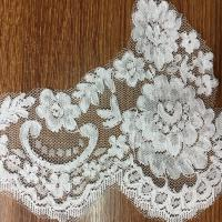 China Jacquard Lace border for Wedding dress  Cord lace edge in Ivory Color on sale