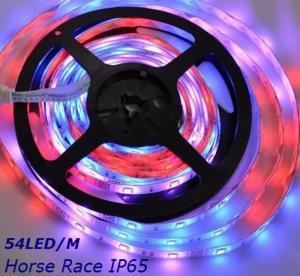 China Waterproof SMD5050 5M Horse Race Flexible LED Light Strip 54led/m DC12V 12.96W/M on sale