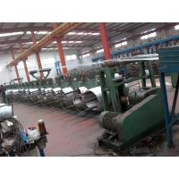 China Medium Blue Color 0.6-1.6mm Wire Galvanizing Line For Making Iron Wire on sale