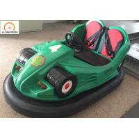 Quality Indoor Carnival Bumper Cars Remote Control Or Coin Operated 12 V 60 AH wholesale