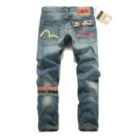 Quality Wholesale new 2014 EVISU three color small M hole in national fashionable style mens jeans wholesale