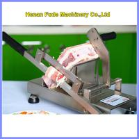 Quality small frozen meat slicer, Household manual meat slicer wholesale