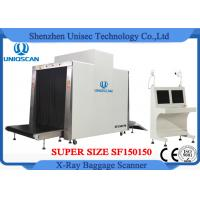 Quality Customized Airport Luggage Scanner / Baggage X Ray Scanner Large Tunnel Size 150x150mm wholesale