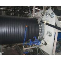 Quality hdpe pe hollow wall winding pipe machine extrusion line production for sale wholesale