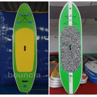 Quality Durable PVC Tarpaulin Surfboard / Inflatable SUP Board For Water Sports wholesale