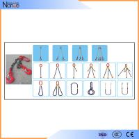 Quality OEM Polyester Sling With Hooks 2 Limbs Lifting Chain Slings wholesale
