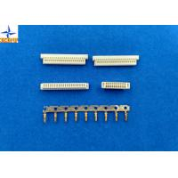 Quality Phosphor Bronze Pitch 1.0mm Wire To Board Connectors Dual Row With PA46 Material wholesale