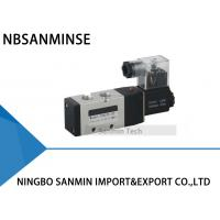 Quality 1/4 3/8 1/2 Electrical Pneumatic Solenoid Valve , NBSANMINSE PU520 Air Control Valve wholesale