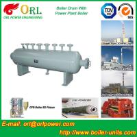 Quality High Pressure Vacuum Boiler Mud Drum For Heating Industry SGS Standard wholesale