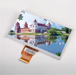 "Quality High Brightness 800x480 RGB 24BITS 200Cd/M2 7"" TFT LCD Display wholesale"