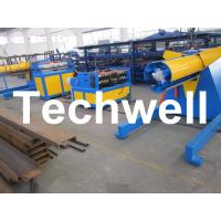 Quality Carbon steel, GI Economical Simple Type Slitting Machine With 30KW, 30m/min Speed wholesale