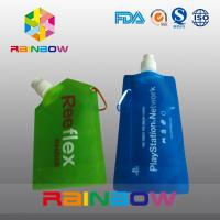 China Customized Printed Stand up reusable spout pouch for liquid pakaging on sale