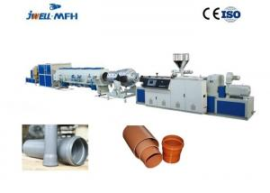 China Siemens PLC or OMRON Temperature Controller Drinking Water UPVC PVC Pipe Extrusion Line on sale