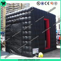 China Black Inflatable Photo Booth, Event Inflatable Booth,Party Inflatable Square Tent on sale